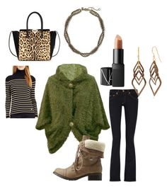 """""""Now, let's get together ... By gg"""" by mikeshehan on Polyvore featuring rag & bone, Lauren Ralph Lauren, Charlotte Russe, NARS Cosmetics, Valentino, Banana Republic and Silver Forest"""