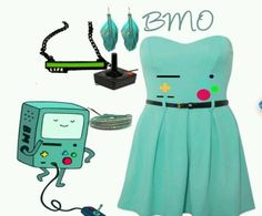 BMO dress. I want everything, but especially the necklace.