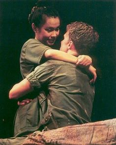 "Lea Salonga in her Best Musical Actress Tony-winning role in ""Miss Saigon,"" 1991"