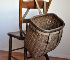 traditional pack basket