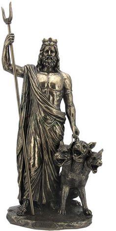 Hades - Greek God Of The Underworld Sculpture