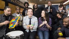 Idina Menzel and Jimmy Fallon cover 'Let It Go' with classroom instruments on 'Tonight Show'