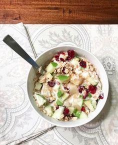 cranberry-apple-yogurt-bowl
