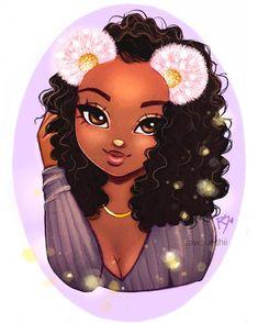 Black art sketch ideas for 2019 Girl Drawing Sketches, Cute Girl Drawing, Girl Drawings, Sketch Art, Cartoon Drawings, Black Love Art, Black Girl Art, Christina Lorre Drawings, Anime Negra