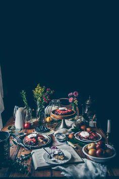 Gluten-Free Blueberry & Plum Upside-Down Cakes | TermiNatetor Kitchen | Food & Still Life Photography
