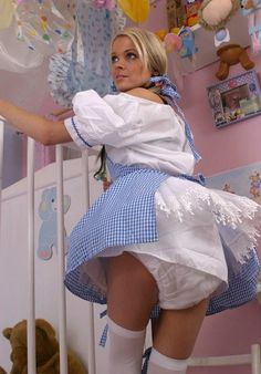 feeling safe in my double diaper 3 -Lilly 3 #adult-baby #girl #abdl #diaper