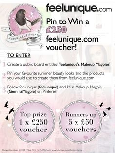 Shop makeup, haircare, skincare and fragrance from 500 brands, plus catch up on the latest beauty trends here at Feelunique. Summer Beauty, Summer Makeup, Competition Giveaway, Unique Makeup, Feel Unique, Beauty Trends, Beauty Secrets, Wedding Hairstyles, Makeup Looks