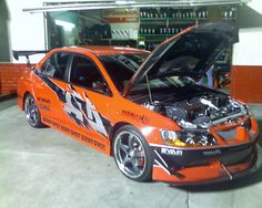 "Mitsubishi Lancer EVO - from ""Fast and Furious: Tokyo Drift"""