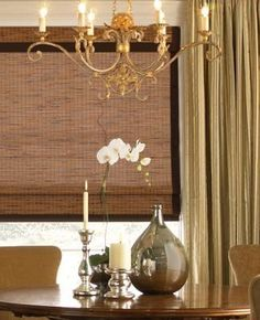 Levolor Natural Shades - Platinum Reeds w/Cord Control, Top Down/Bottom Up and Room Darkening Privacy Liner - Woven Woods by Levolor. $152.96. Color: Rattan Textures-Banana Leaf 81974. Woven Woods by Levolor. Shade opens from the top down or bottom up, allowing light in while retaining privacy, with a liner that blocks light and adds privacy Woven Woods Size: 20 x 16. Color: Rattan Textures-Banana Leaf 81974