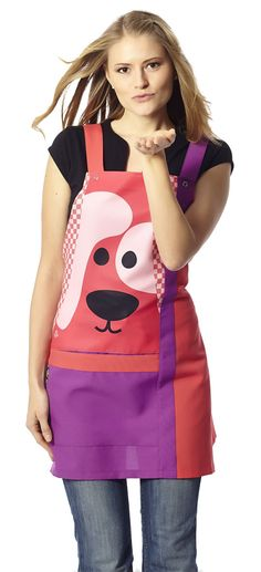 €27.55 - Estola Maestra modelo Animales fresa - ES7304 Scrub Tops, Sari, Couture, Female, Aprons, Chef Clothing, Clothes, Montessori, Fashion