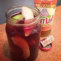 Sweet Leaf Tea's Thirst Quenching Cocktails: Mamma Mia Sangria