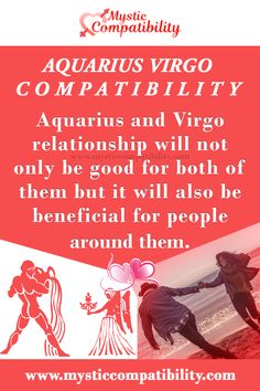 Aquarius and Virgo relationship will not only be good for both of them but it will also be beneficial for people around them. #Aquarius #Virgo_relationship #love_Compatibility #Zodiac_Signs Virgo And Aquarius Compatibility, Aquarius Love, Virgo Zodiac, Aquarius Relationship, Virgo Relationships, Zodiac Sign Facts, Zodiac Quotes, Boyfriend Quotes, Astrology