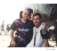 "Tyler Carter: ""Me and my best friend, my big brother, my co front man!"""