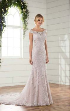 Essense Of Australia style D2322. Available @ Low's Bridal.