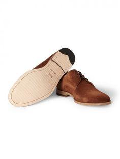 Walterlight Suede Derby Shoes