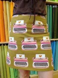Perfect Skirt Class- November 2nd : Sew Modern