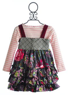 Persnickety Olivia Jewel Jumper with Pink Tee