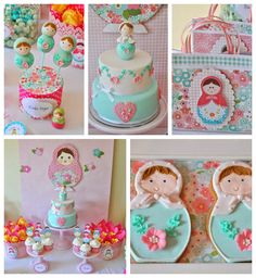 Matryoshka Doll Themed Birthday Party