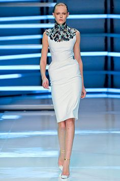Alexandre Vauthier Couture S2012  Love this insane neckpiece, I'm so wearing stuff like this all the time when I have tenure.
