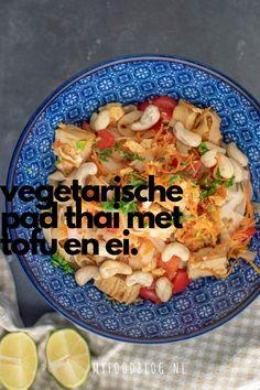 Tofu Pad Thai, Tofu Curry, Vegetarian Recipes, Healthy Recipes, Good Food, Yummy Food, I Foods, Healthy Life, Clean Eating