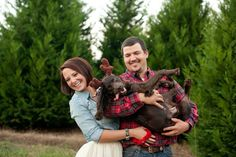 Tracy Leigh Photography- Davis Family Photos, December 2013 #plaid #engagement #couplephoto #photography #tulle #christmascardphoto #treefarm #tulleandchambray #chambray #furvest #furandplaid #duckboots #llbeanboots #duckbootsandtulle #puppylove #sillygirl