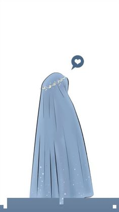 Anime Muslim, Hijab Cartoon, Muslim Girls, Niqab, Alhamdulillah, Arabic Quotes, Girly Girl, Art Girl, Islamic