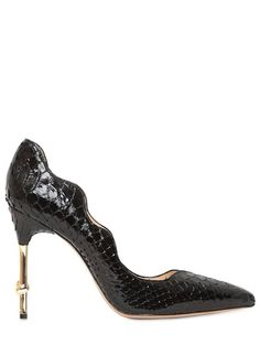 0a195875d7e 100mm Water-snake Knotted Heel Pumps - Lyst Snake Knot