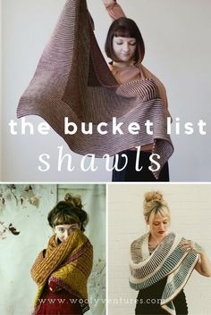 9 gorgeous shawl patterns to knit this fall. Designs from Drea Renee Knits, Westknits, olgajazzy and more!