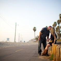 A Huntington Beach engagement session!