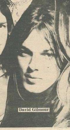 A young David Gilmour