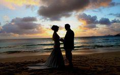 Mr and Mrs Boyd, May 2013. Wedding at Petite Anse beach at Four Seasons Resort Seychelles #realweddings #luxbride