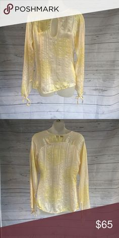 """DAY ] birger et mikkelsen yellow blouse Day Birger et mikkelsen 