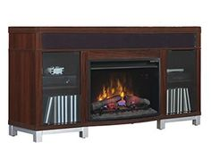 Shop for Classic Flame Roxbury Media Fireplace. Get free delivery On EVERYTHING* Overstock - Your Online Home Decor Outlet Store! Portable Fireplace, Fireplace Accessories, Liquor Cabinet, Storage, Furniture, Image Link, Amazon, Home Decor, Purse Storage