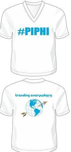 Pi Phi Twitter shirt- Trending everywhere! #piphi #pibetaphi