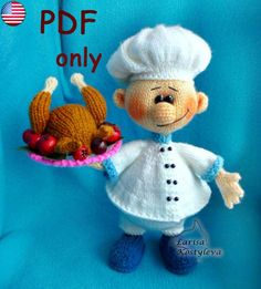 Cook amigurumi knitting pattern pdf