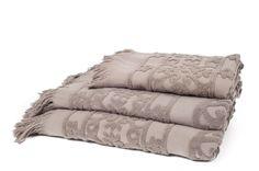 Harmony - Serviette de bain Hammam - sdb Estelle et Didier x 2 - 100% coton - Taupe - 70cm x 140cm: Amazon.fr: Cuisine & Maison- 16,74€ +4,5 de frais de port