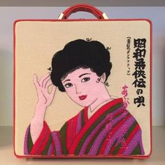 "olympialetan:  "" 7"" bag 🎌👘🎌 #olympialetan #sentimentaljourney #SS16 (à Olympia Le-Tan SARL)  """