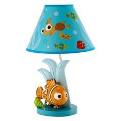 Disney Nemo Lamp & Shade - 3065067