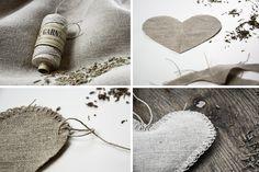 DIY | Lavendelherz