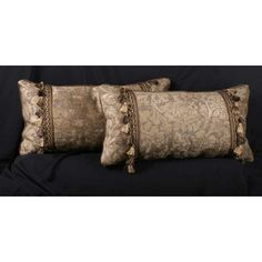 Decorative Pillows : Brunschwig and Fils Chenille Clarence House Velvet Decorative Pillows