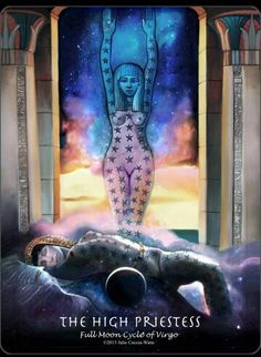 #tarotaffirmation ~ I trust my inner knowledge. ~ The High Priestess #innerknowing, #trust, #thehighpriestess, #affirmations, #tarot, #journeyintoegypttarot, #foolsdogtarot
