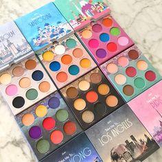 """ eyeshadow palette collection by Mavie. Sexy Makeup, Love Makeup, Makeup Stuff, Makeup Ideas, The Balm Makeup, Homemade Frames, Best Workwear, Indie Makeup, Makeup Pallets"