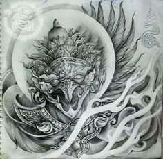 Indonesian demon art