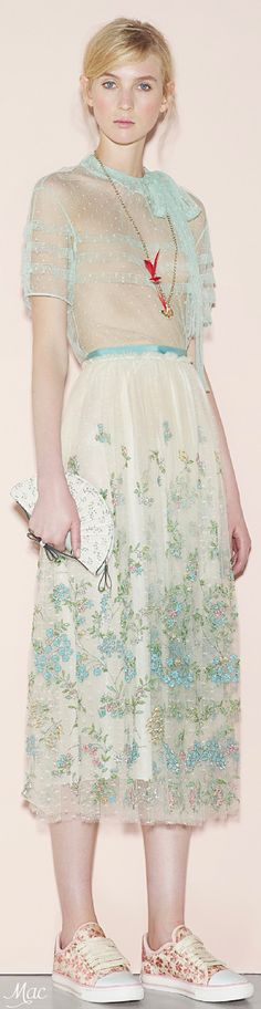 Spring 2016 Ready-to-Wear Red Valentino