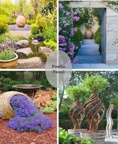 Decorando o Jardim com Vasos • Jardim de Siguta •