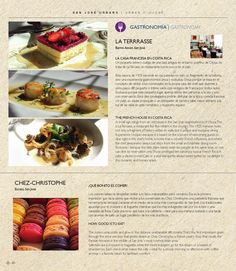 The Chef Patricia Richer of the Restaurante La Terrasse in Welcome Magazine, The passport for Top Travellers Page 78