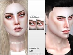 Eyebags in 5 variations. Adapts to all skintones, for all ages and genders. Found in TSR Category 'Sims 4 Female Skin Details' The Sims, Sims 4, Eyebags, Happy Skin, Moisturizer With Spf, Wash Your Face, Combination Skin, Skin Problems, Skin Treatments