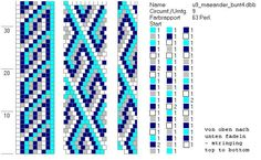 9 around tubular bead crochet rope pattern. Crochet Bracelet Pattern, Crochet Beaded Bracelets, Bead Crochet Patterns, Bead Crochet Rope, Seed Bead Patterns, Beaded Jewelry Patterns, Peyote Patterns, Beading Patterns, Beaded Crochet