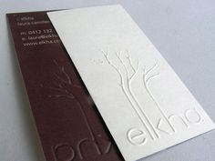 40+ Embossed Business Cards | Unique Business Cards