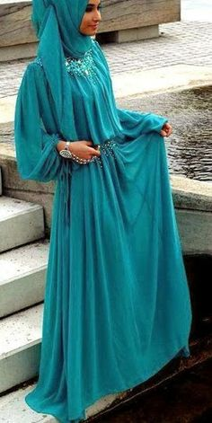 FASHION #MUSLIM #DRESS